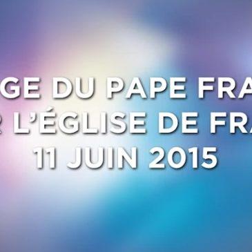 Message du pape à l'Eglise de France