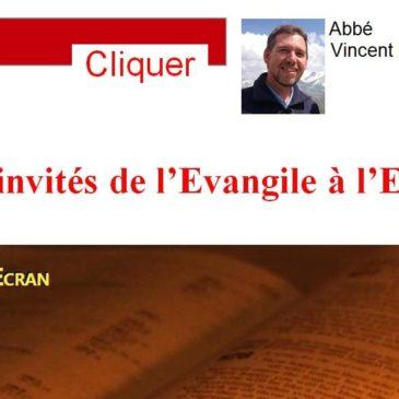 Les invités de l'Evangile à l'Ecran