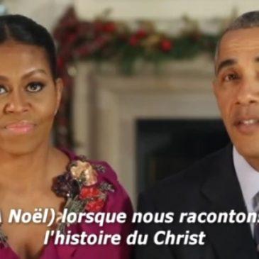 Les voeux des Obama's