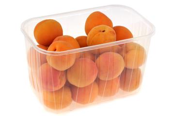 La barquette d'abricots